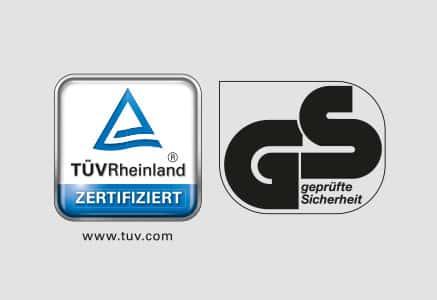 GS-kwaliteitsmerk voor beproefde veiligheid
