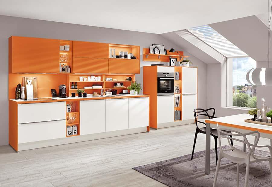 Color concept oranje 246 KeukenSucces